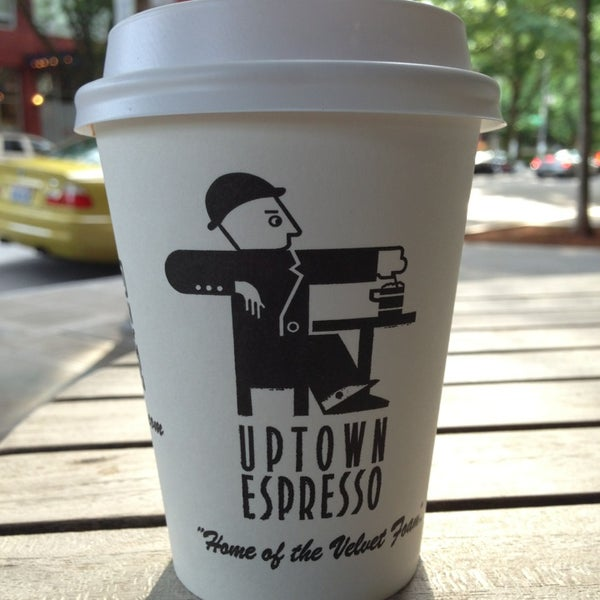 Photo taken at Uptown Espresso by Christopher J. on 6/16/2013