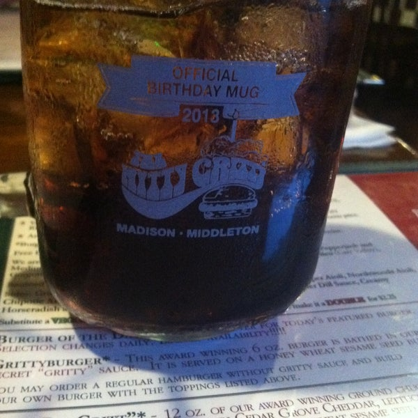 Photo taken at Nitty Gritty Restaurant & Bar by Genevieve H. on 5/1/2013