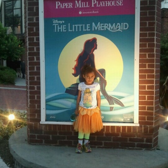 paper mill playhouse little mermaid Disney's the little mermaid book by doug wright, music by alan menken  and  papermill playhouse co-designed with amy clark human costumes.