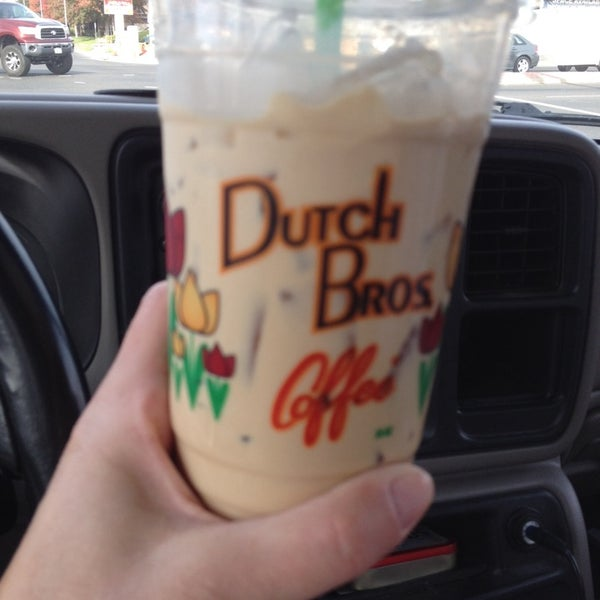 Photo taken at Dutch Bros. Coffee by Amy L. on 11/7/2013
