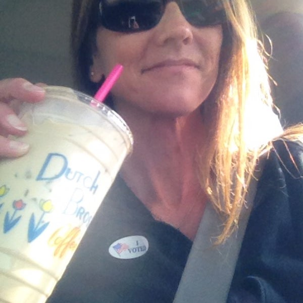 Photo taken at Dutch Bros. Coffee by Amy L. on 11/4/2014