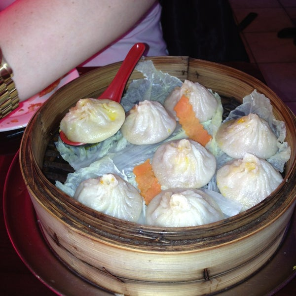 Photo taken at Shanghai Café Deluxe by East Village Eats on 1/15/2013