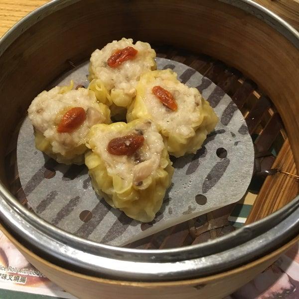 Photo taken at Tim Ho Wan 添好運 by East Village Eats on 4/11/2017