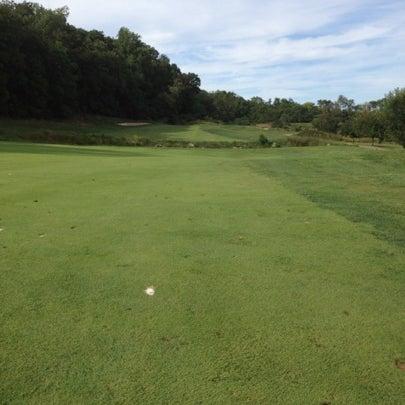 Photo taken at Raspberry Falls Golf & Hunt Club by Jon W. on 9/15/2012