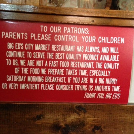 Photo taken at Big Ed's City Market Restaurant by Jonathan H. on 9/29/2012