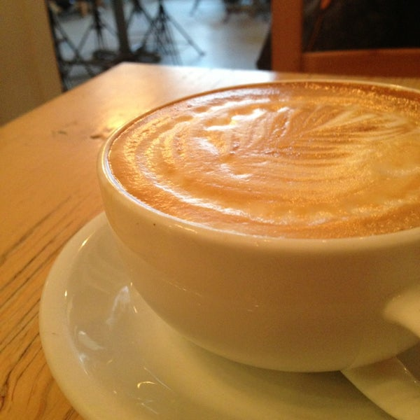 Photo taken at Bodhi Coffee by Sean F. on 2/8/2013