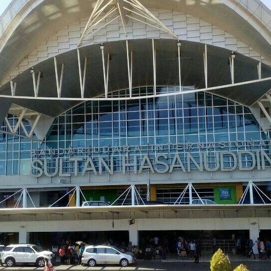 Photo taken at Sultan Hasanuddin International Airport (UPG) by Monlievt P. on 7/21/2015