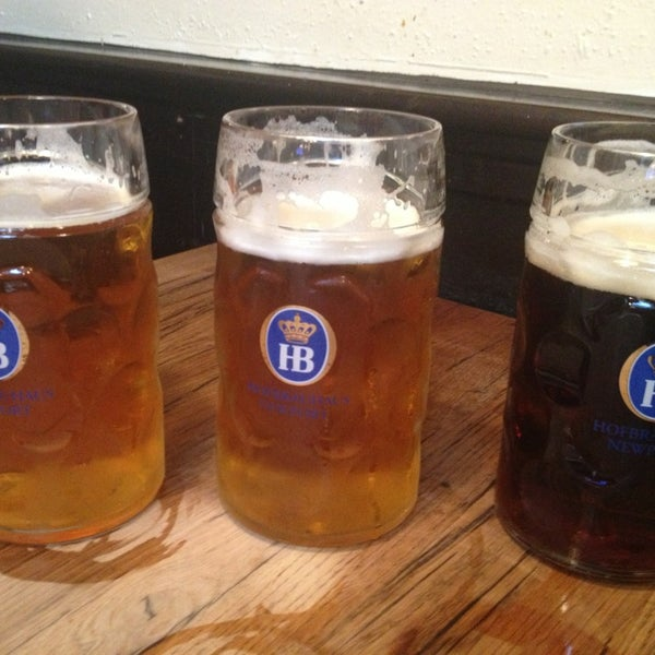 Photo taken at Hofbräuhaus Newport by Mark B. on 6/27/2013