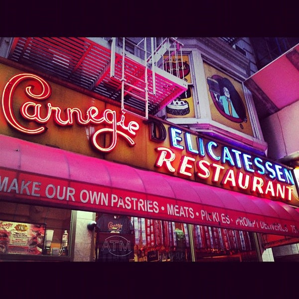 Photo taken at Carnegie Deli by Markey G. on 11/15/2012