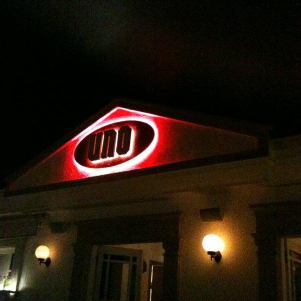 7/3/2013 tarihinde Borabora ..ziyaretçi tarafından Uno Restaurant'de çekilen fotoğraf