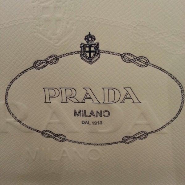 Photo taken at Prada by Alice C. on 9/14/2013
