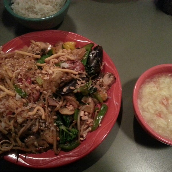Photo taken at HuHot Mongolian Grill by William H. on 12/22/2013