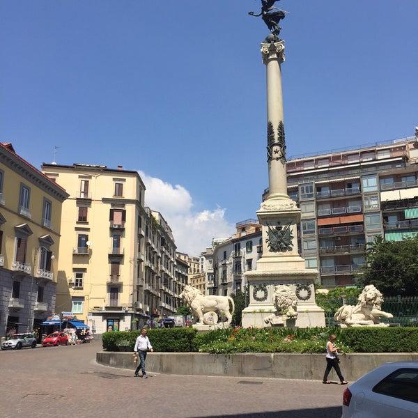 Photo taken at Piazza dei Martiri by Lama A. on 7/29/2016