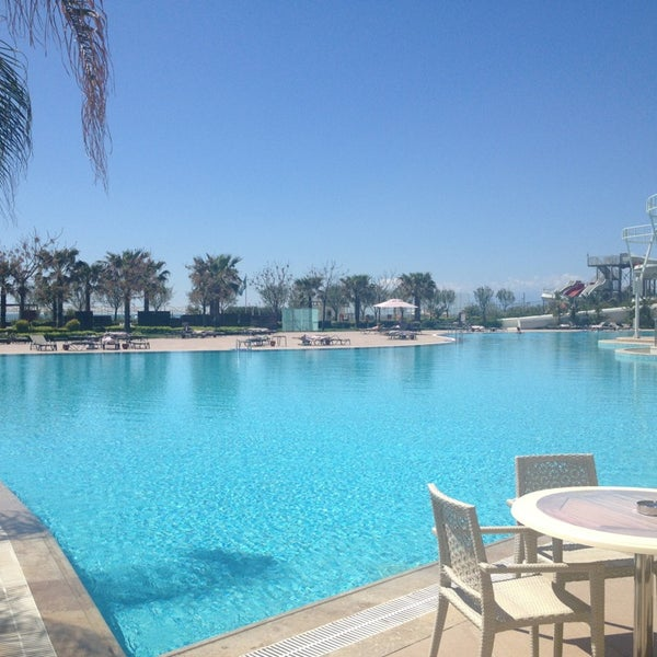 4/10/2013 tarihinde wyrathcziyaretçi tarafından Cornelia Diamond Golf Resort & Spa'de çekilen fotoğraf