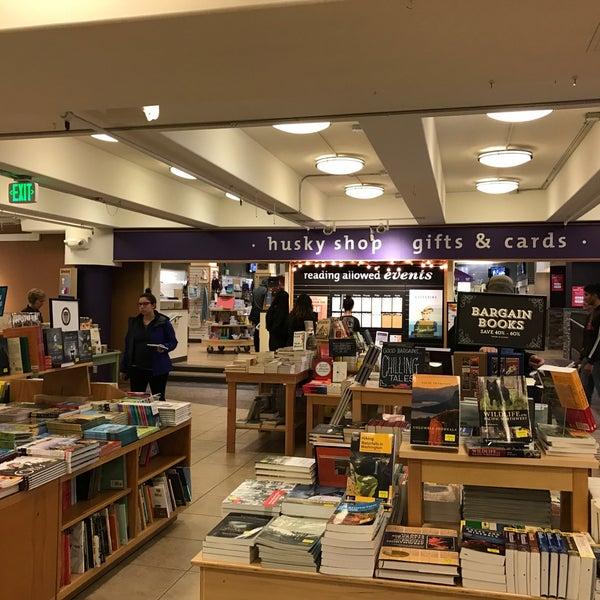 Photo taken at University Bookstore by Hua W. on 9/23/2016