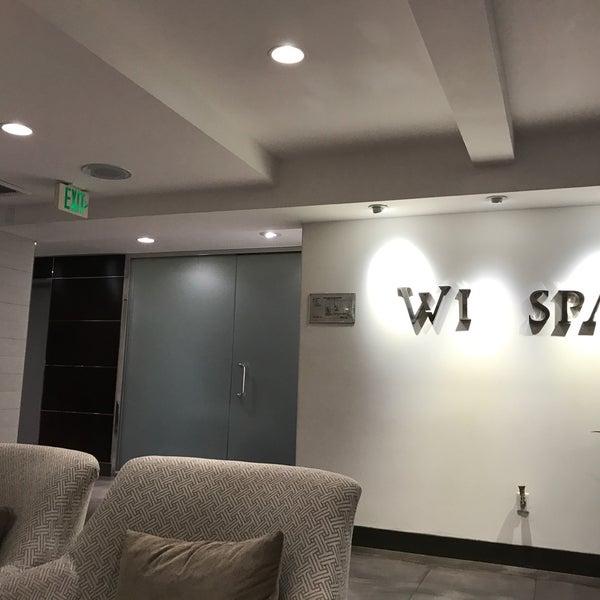 Photo taken at Wi Spa by Hua W. on 4/30/2017