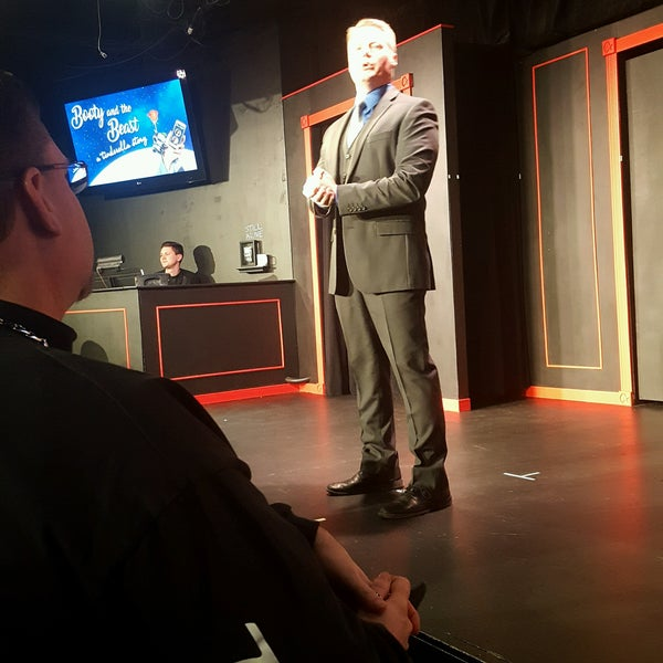 Photo taken at Brave New Workshop Comedy Theatre by Tami C. on 2/12/2017