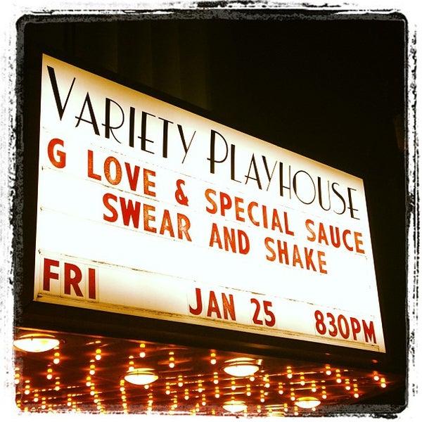 1/26/2013 tarihinde Bill B.ziyaretçi tarafından Variety Playhouse'de çekilen fotoğraf