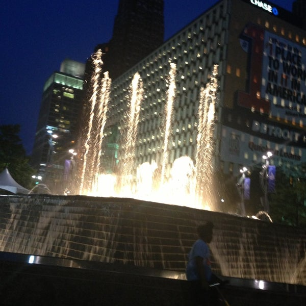 Photo taken at Campus Martius by Lynette W. on 7/6/2013