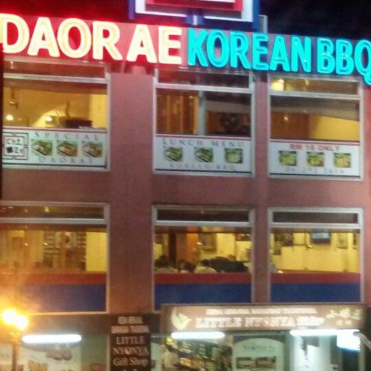 Photo taken at Daorae Korean BBQ Restaurant by Kristiana S. on 8/7/2014