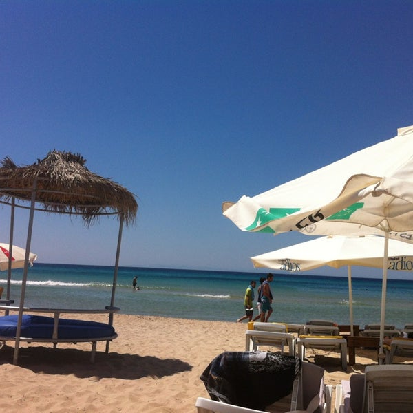 Photo taken at Ramo Beach by Haydar Y. on 6/23/2013