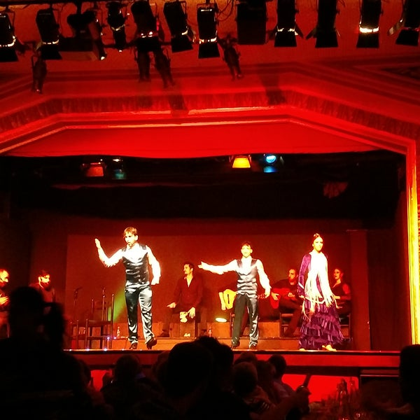 Photo taken at Palacio del Flamenco by Michelle A. on 4/26/2017