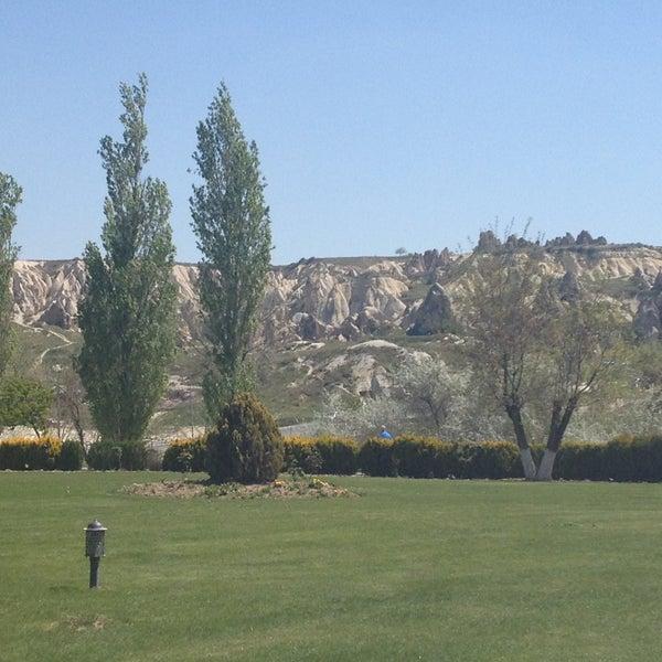 4/28/2013 tarihinde Tevfikziyaretçi tarafından Tourist Hotels & Resorts Cappadocia'de çekilen fotoğraf