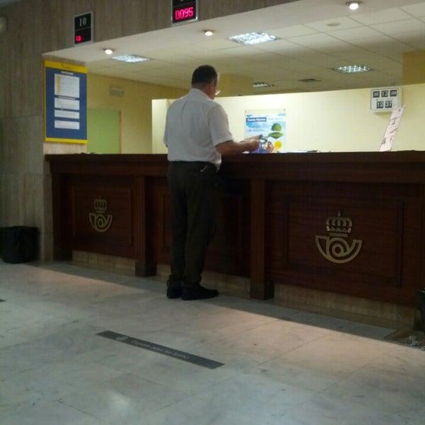 Oficina correos pza de espa a 2 for Oficina correos madrid