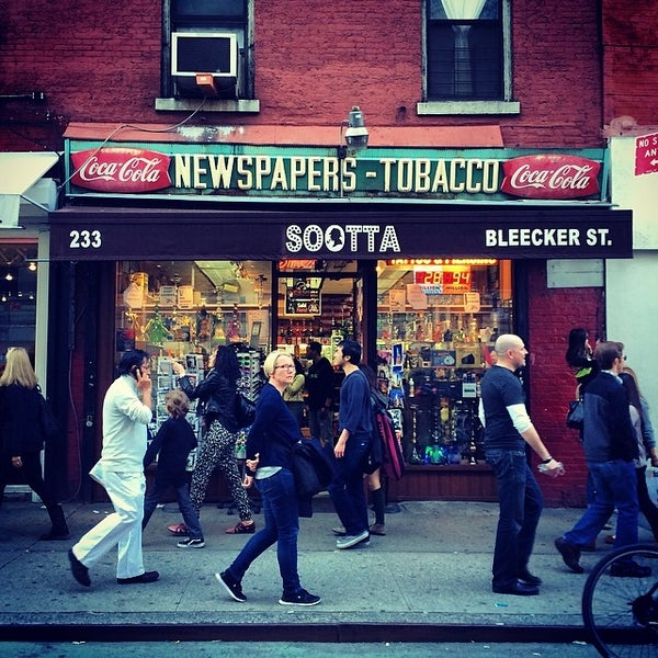 Photo taken at Bleecker Street Bar by trumper . on 4/12/2014