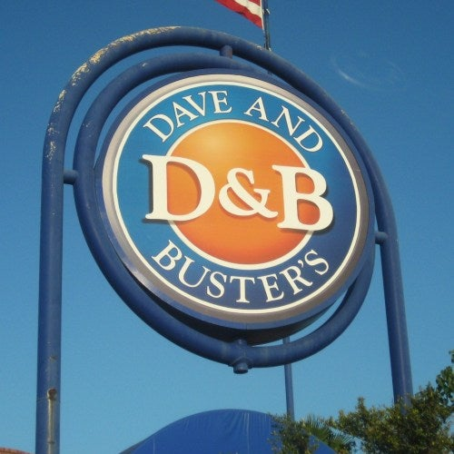 When you want to rid the earth of some zombies, ride a faux snowmobile through flaming skies, drink insane shooters, there's only one spot in the metro to go: Dave & Buster's.