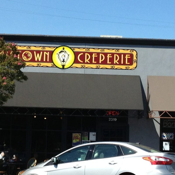 Photo taken at Midtown Crêperie & Café by Laura M. on 6/30/2013