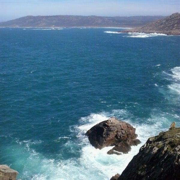 Photo taken at Faro de Cabo Vilán by Aline M. on 4/4/2015