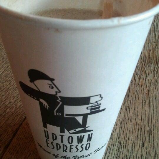 Photo taken at Uptown Espresso by Hyangelo H. on 11/10/2012
