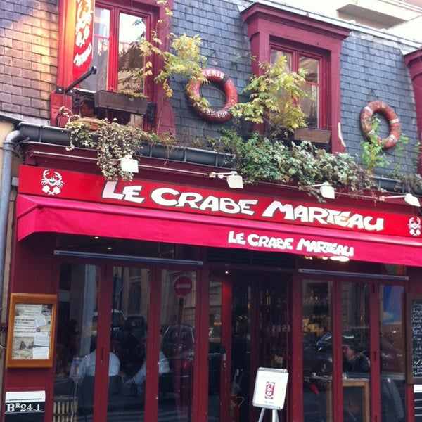 Restaurant Le Crabe Marteau  Ef Bf Bd Paris