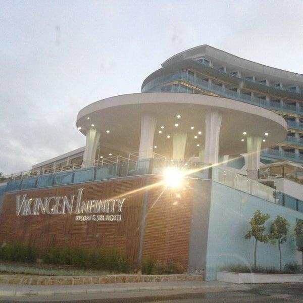 7/7/2013 tarihinde Umut C.ziyaretçi tarafından Vikingen Infinity Resort Hotel & Spa'de çekilen fotoğraf