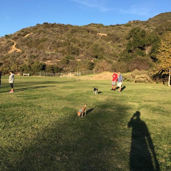 Photo taken at Laguna Canyon Dog Park by David C. on 12/28/2014