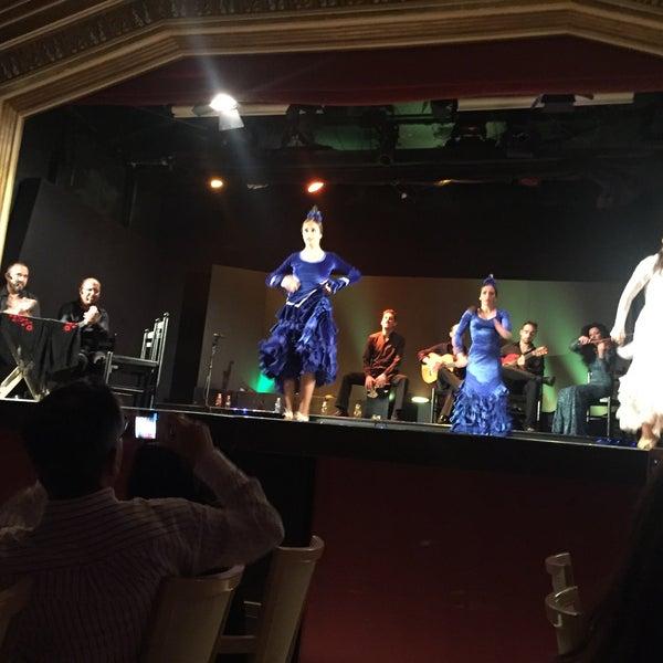 Photo taken at Palacio del Flamenco by Fatma M. on 6/5/2017