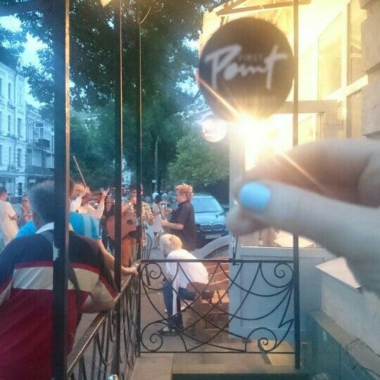 Снимок сделан в First Point Espresso Bar пользователем Kateryna Z. 7/31/2015