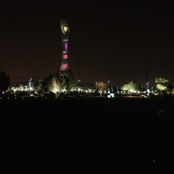 Photo taken at Aspire Park by Mohammed A. on 5/3/2013