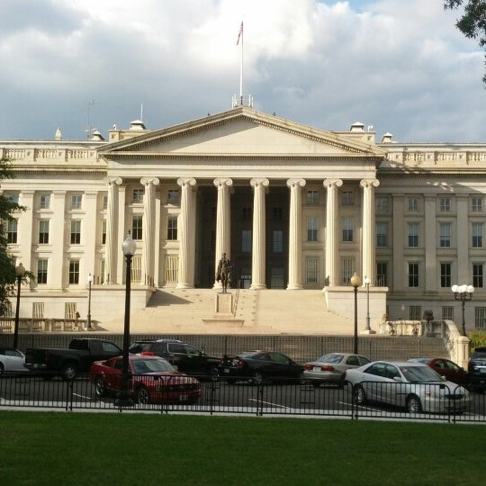 Photo taken at US Department of the Treasury by Mick S. on 9/29/2012