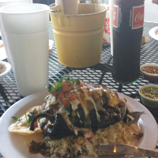 Photo taken at Del Norte Taco by Tom R. on 8/24/2013