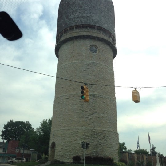 Photo taken at Ypsilanti Water Tower by Rose on 6/21/2013