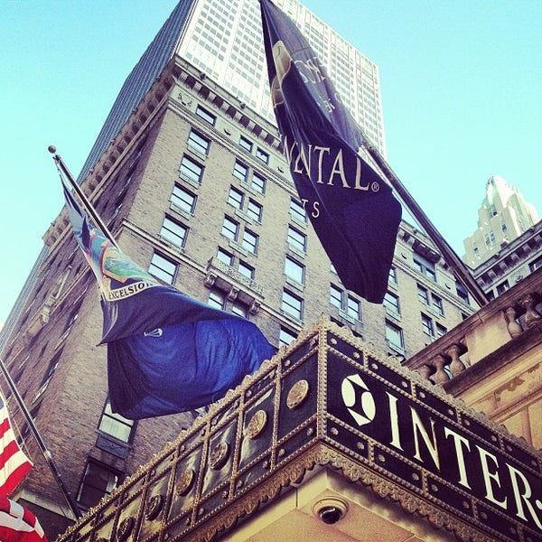 Photo taken at InterContinental New York Barclay by Greg B. on 3/24/2013