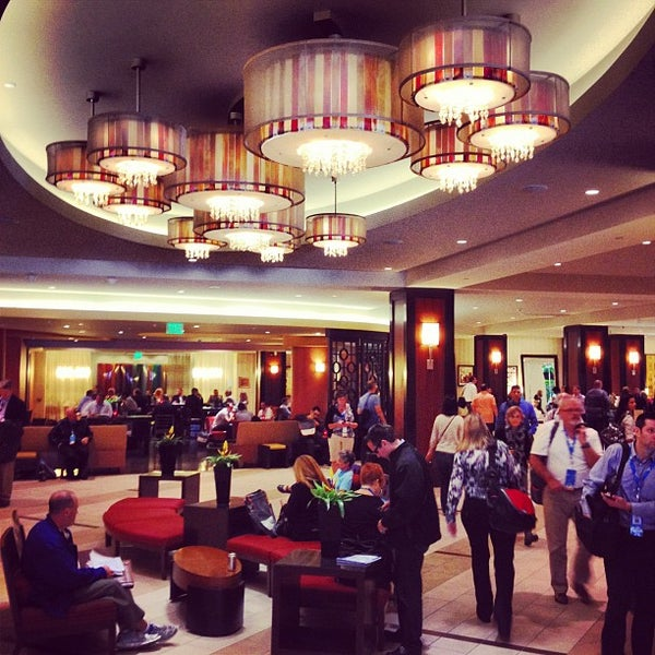 Photo taken at San Francisco Marriott Marquis by Greg B. on 9/18/2012