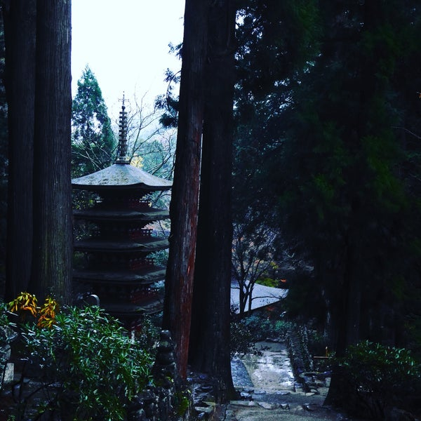 Photo taken at 室生寺 by 87dy on 11/25/2015