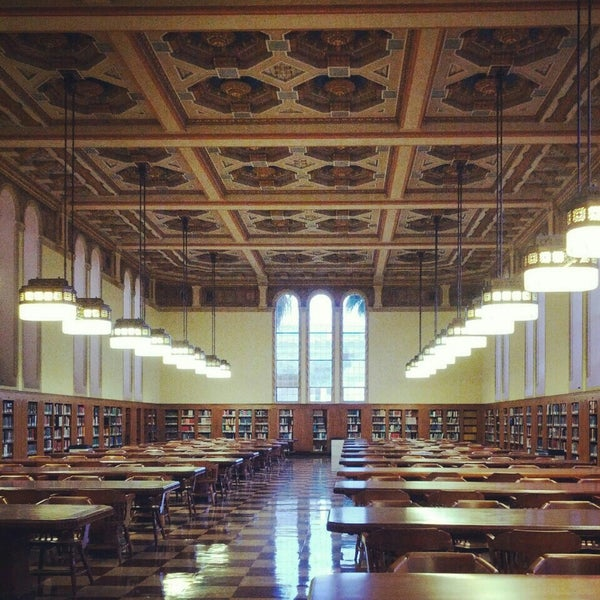 Photo taken at Doheny Memorial Library (DML) by Doyoung O. on 5/14/2015