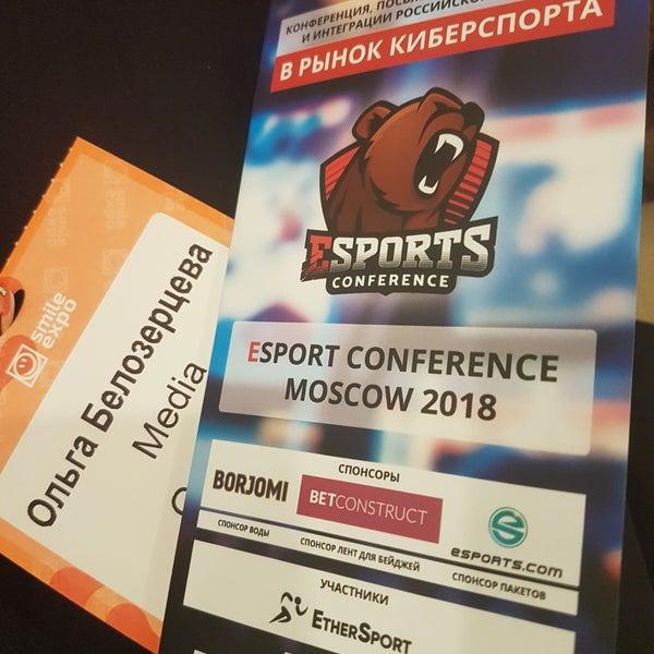 Снимок сделан в Marriott Novy Arbat пользователем Olga B. 4/3/2018