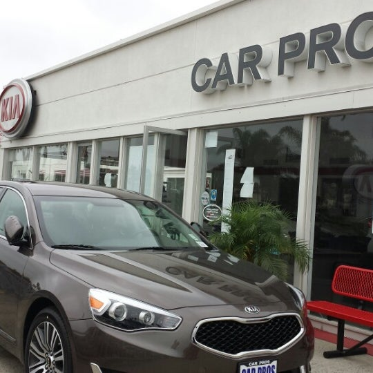 Photo Taken At Car Pros Kia Of Huntington Beach By Yilmaz B. On 6/