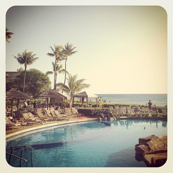 Photo taken at Sheraton Maui Resort & Spa by Rob B. on 4/3/2013