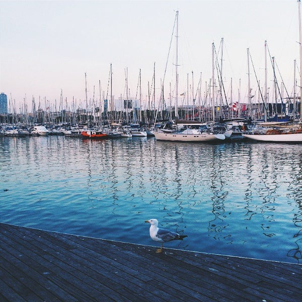 Photo taken at OneOcean Port Vell Barcelona by Julia I. on 6/8/2015